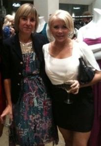 Tibi designer Amy Smilovic & Paige Clark Hardison